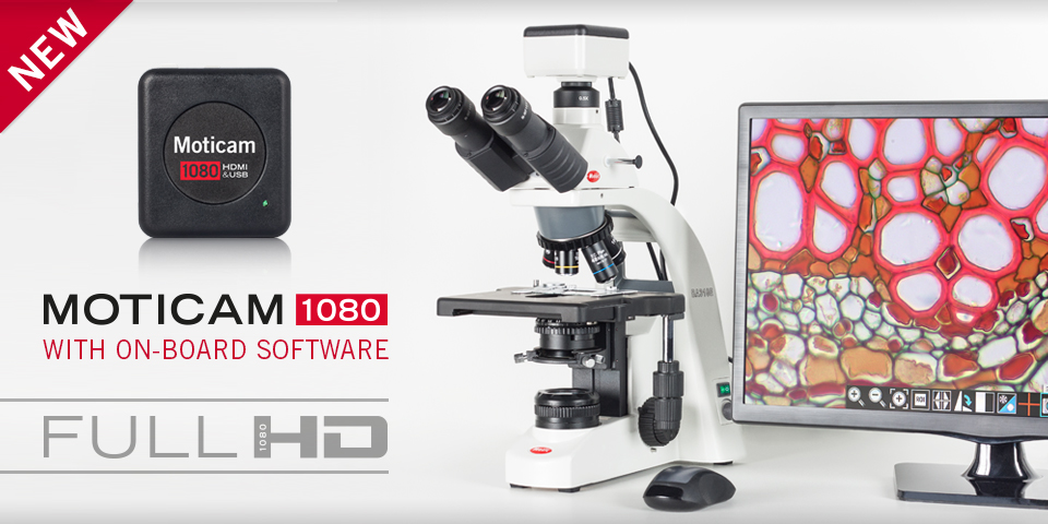 Moticam1080 HDMI Microscope Camera