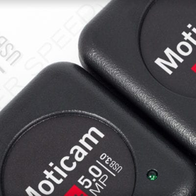 Moticam 5+ USB3 Microscope Camera