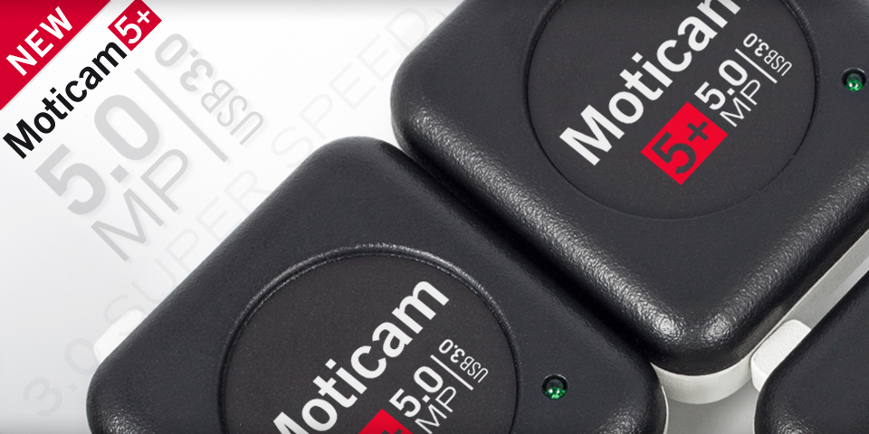 Moticam microscope camera – digital microscopy imaging solutions