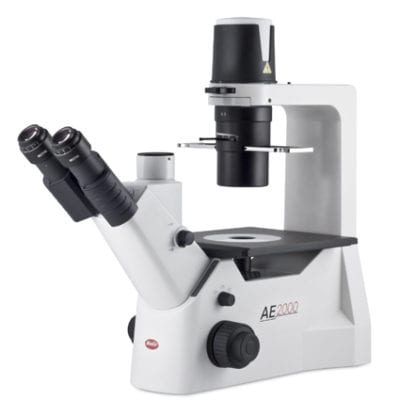 Motic AE2000 Trinocular Inverted Microscope