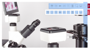 Motic 1080BMH HD Output microscope camera with LCD HD Screen