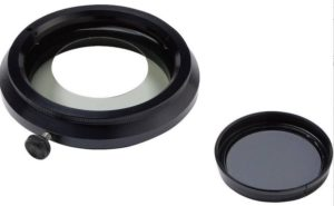 Photonic LED ring light polariser set for Leica microscope
