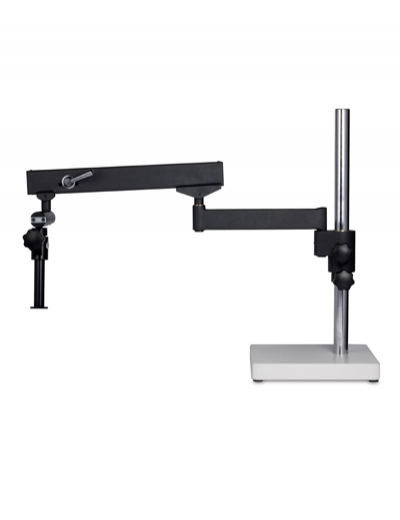 Articulated arm microscope stand with base