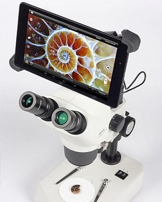 Digital Zoom Microscope Camera / Tablet BTU8 with SMZ161T