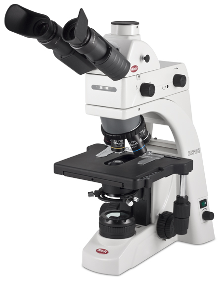 Motic Microscope BA310E with LED Epi Fluorescence