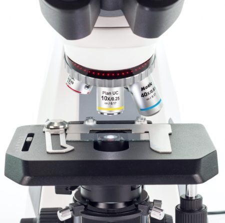 Motic Panthera Microscope Nosepiece & Dual Slide Holder / Rackless Stage