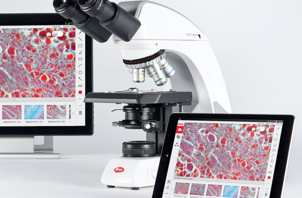 Laboratory Microscope with digital microscopy imaging  from MMS Microscopes