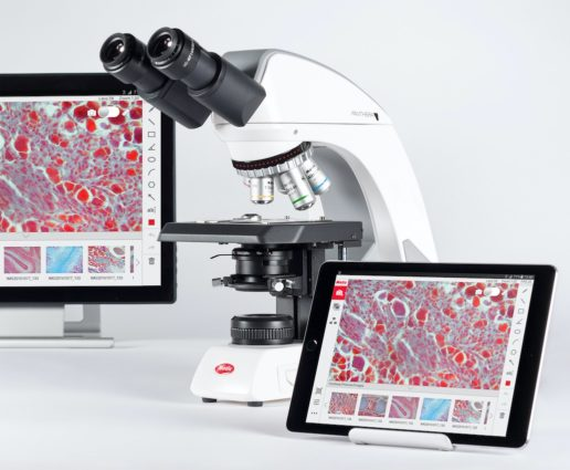 Motic Panthera L - The Digital Smart Lab Microscope