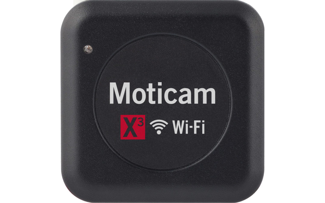 Moticam X3 Wi-Fi camera for microscope with ethernet