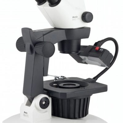Motic Gemmology stereo zoom microscope
