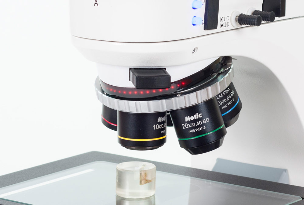 Incident Light Microscopy for opaque samples