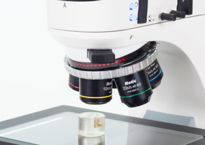 Metallurgical microscope & met lab sample prep equipment from MMS Microscopes