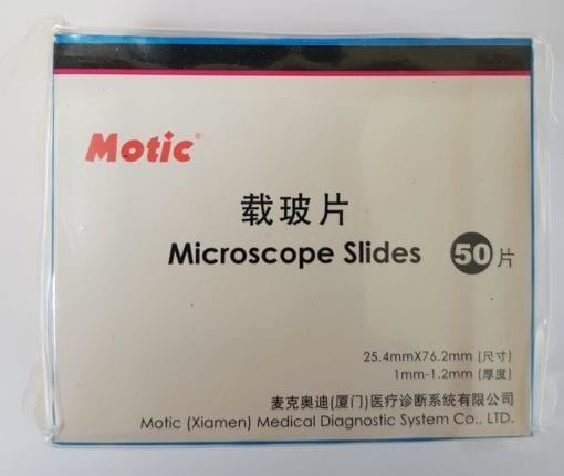 Microscope slides Pack of 50