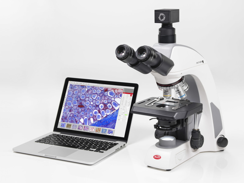 Scientific grade microscope camera – Motic S Line Introduction