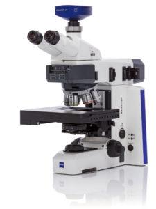 Zeiss Axioscope 7 Met Microscope with motorised focus & stage