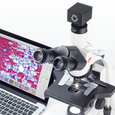 Microscope camera for bioscience microscopy