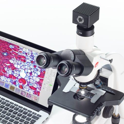 Microscope camera for bioscience microscopy